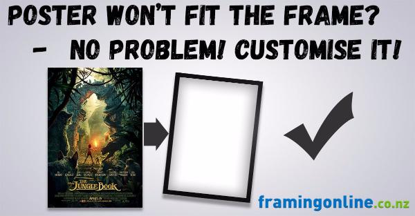 Custom Frames NZ | Find a Frame & Customise It | Shop Framing Online