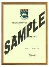 Auckland University Degree 103hon CONSERVATION