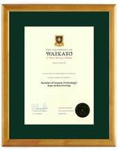 Waikato Degree 28hon8447 CONSERVATION