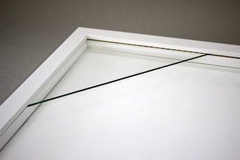 400x400mm Square White Box Frame 52