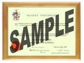 Massey Uni Degree 28hon CONSERVATION