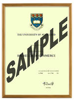 Auckland University Degree 103hon
