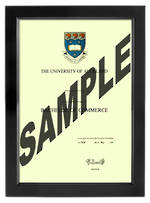Auckland University Degree 699sb CONSERVATION