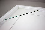 A4 2-Window White Box Frame White Mat 52sw