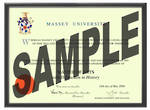 Massey University Degree 1031p