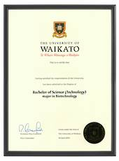 Waikato Degree 1031p CONSERVATION
