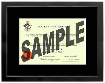Massey University Degree 699sb210